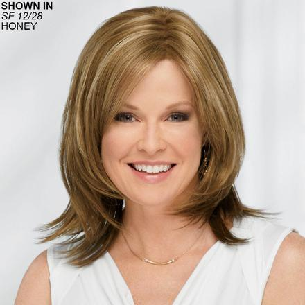 Hadley WhisperLite® Monofilament Wig by Paula Young®