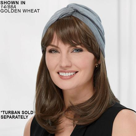 Long Straight VersaFiber® Piece - Turban Hair System by Paula Young®