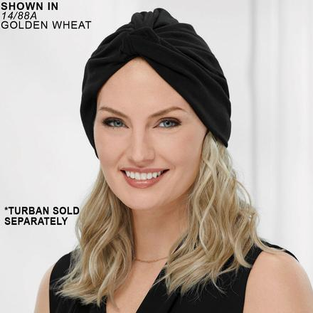Long Wavy VersaFiber® Piece - Turban Hair System by Paula Young®