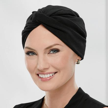 Twist-Front Turban - Turban Hair System by Paula Young®