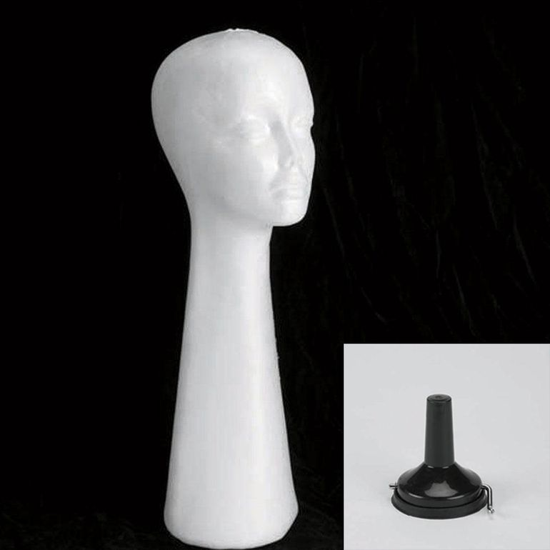 Tall Styrofoam Styling Head Kit