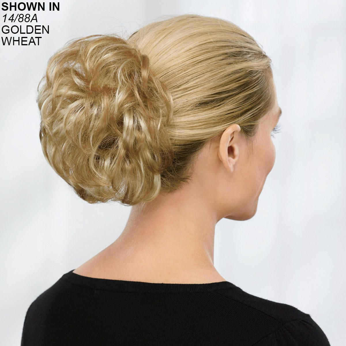 Short Wavy Clip On Hair Piece By Paula Young Clip Ons