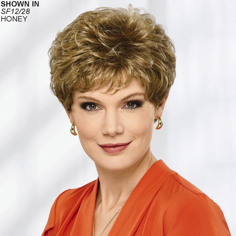 The Colleen Wig By Paula Young Is A Short And Wavy Cut