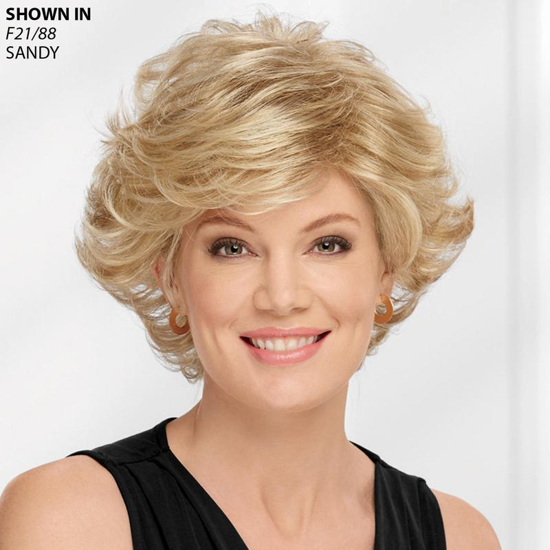 Color Me Exquisite Wig By Paula Young Is A Short Style