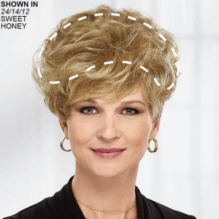 New Lasting Touch Human Hair Wiglet Hairpiece by Paula Young
