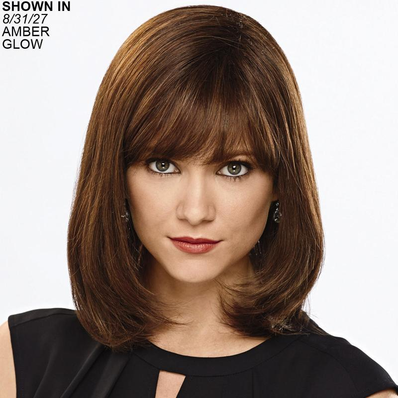 Cosmopolitan 100 Human Hair Wig By Couture Collection Is