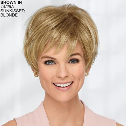 Confident WhisperLite® Monofilament Wig by Heart of Gold