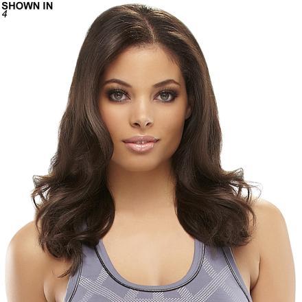 EasiVolume 14 Human Hair Clip-In Volumizer Hair Piece by Easihair®