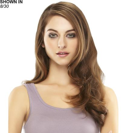 EasiVolume 18 Remy Human Hair Clip-In Volumizer Hair Piece by Easihair®