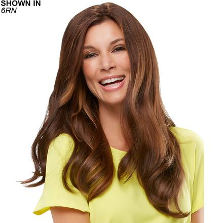Top Form 18 Remy Human Hair Clip-In Volumizer by Jon Renau®