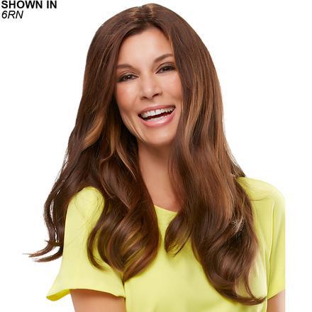 Top Form 18 Remy Human Hair Clip-In Volumizer by Jon Renau®