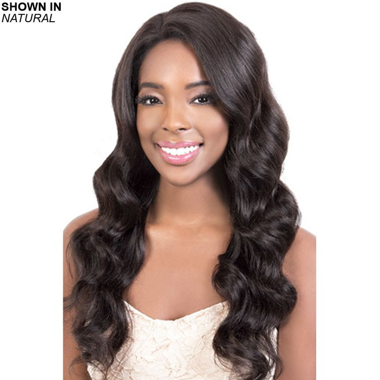 HBR-LS.Lea Remy Human Hair Lace Front Wig by Motown Tress™
