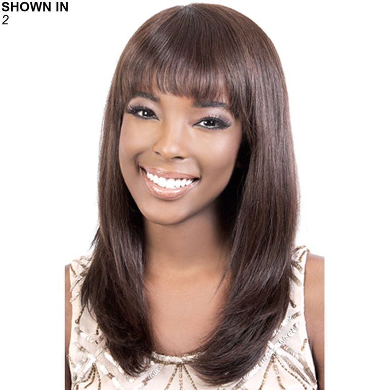 HIR-Annet Remy Human Hair Wig by Motown Tress™