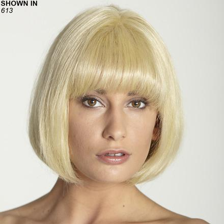 Hillery Human Hair Blend Monofilament Wig by Revolution Collection
