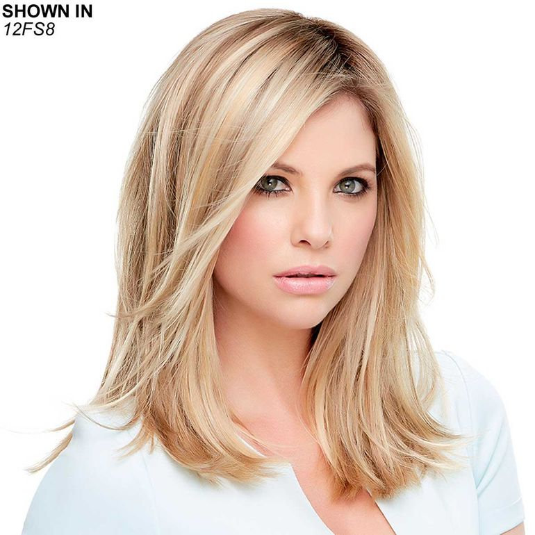 "Top Style Synthetic 12"" Monofilament Hair Piece by Jon Renau®"