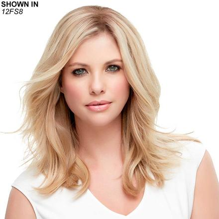Top Style HH 12 Monofilament Hair Piece by Jon Renau®