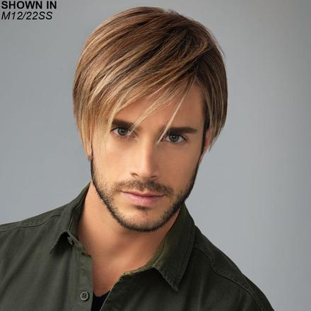 Chiseled Lace Front Monofilament Men's Wig by HIM by HairUWear™
