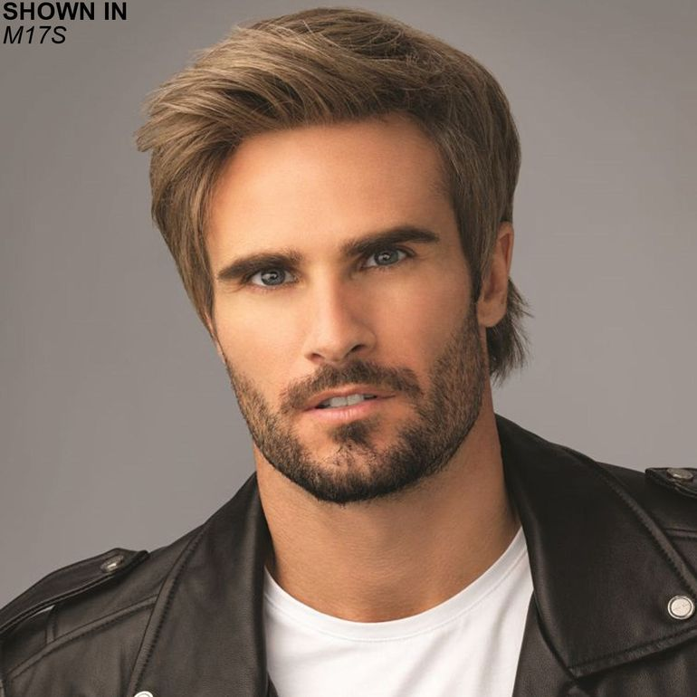 Edge Lace Front Monofilament Men's Wig by HIM by HairUWear™