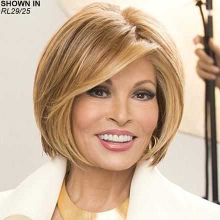 Straight Up with a Twist Lace Front Monofilament Wig by Raquel Welch®