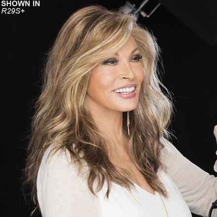 Longing for Long Lace Front Monofilament Wig by Raquel Welch®