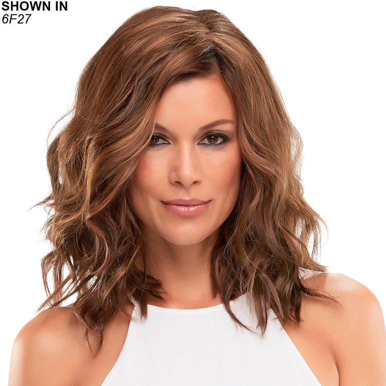 Top Wave 12 Monofilament Hair Piece by Jon Renau®