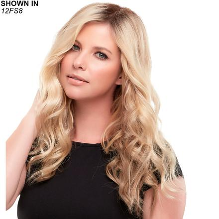Top Wave 18 Monofilament Hair Piece by Jon Renau®
