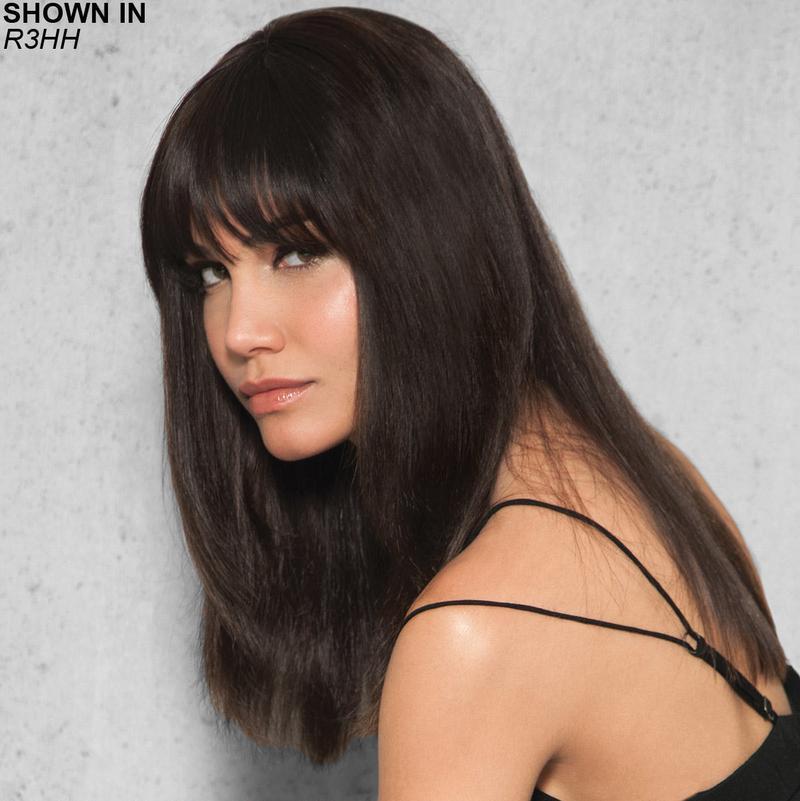 Clip-In Human Hair Fringe Bang Hair Piece by Hairdo  19f2d44266e6