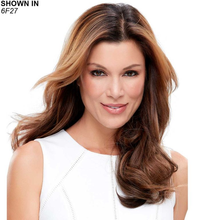 EasiCrown 18 Remy Human Hair Topper Hair Piece by Easihair®