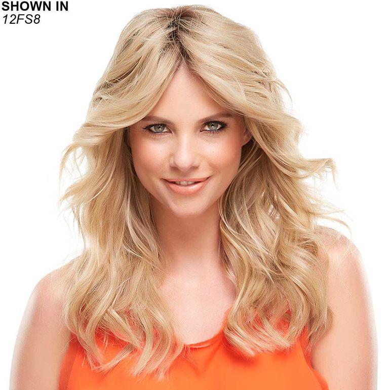 EasiPart XL 12 Remy Human Hair Topper Hair Piece by Easihair®