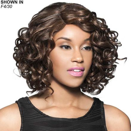 Welsh Human Hair Blend Lace Front Wig by Foxy Lady™