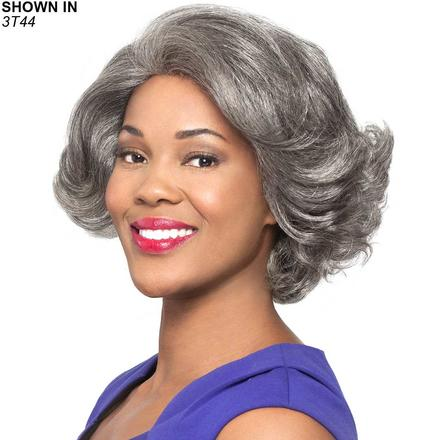 Nori Human Hair Lace Front Wig by Foxy Silver®