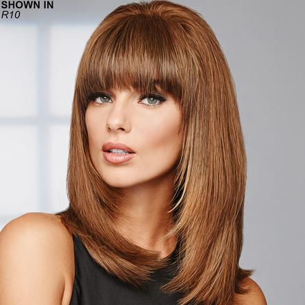 Game Changer Human Hair Monofilament Topper Hair Piece by Raquel Welch®
