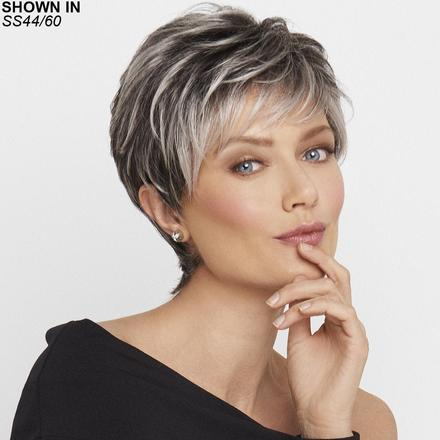 Crushing on Casual Lace Front Monofilament Wig by Raquel Welch®