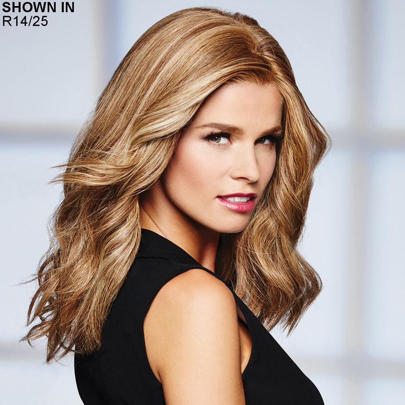 High Profile Lace Front Human Hair Wig by Raquel Welch®