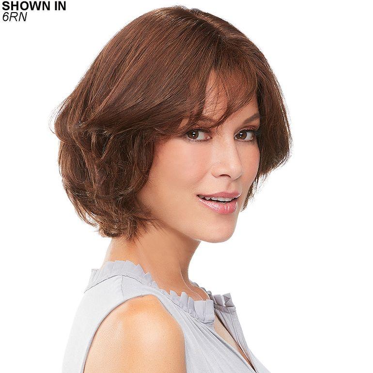 easiPart French 8 Remy Human Hair Topper Hair Piece by Jon Renau®