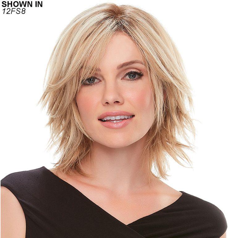 Top Form 6-8 Remy Human Hair Topper Hair Piece by Jon Renau®