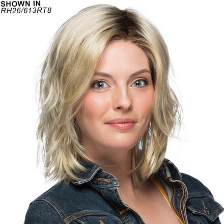 Mellow Lace Front Monfilament Wig by Estetica Designs