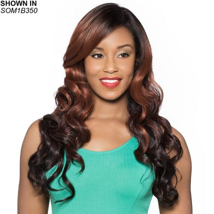 Jolie Human Hair Blend Lace Front Wig by Foxy Lady™