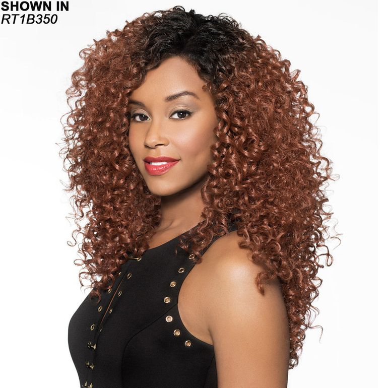Melina Human Hair Blend Lace Front Wig by Foxy Lady™