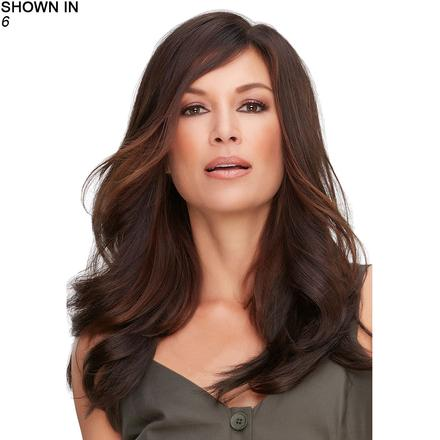 Top Full 18 Hand-Tied Monofilament Topper Hair Piece by Jon Renau®