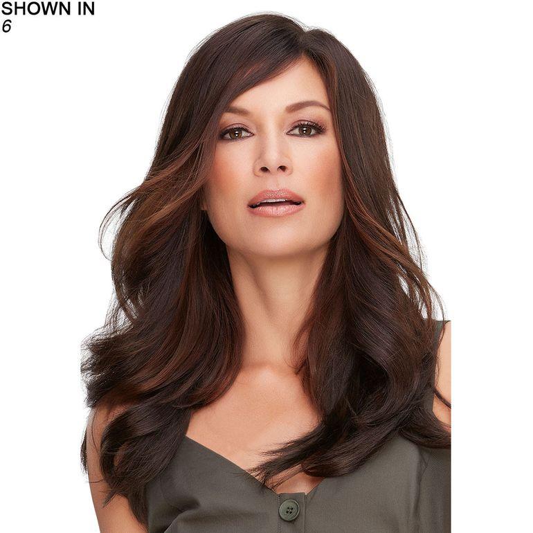 Top Full 18 Hand-Tied Monofilament Topper Hair Piece by Jon Renau®