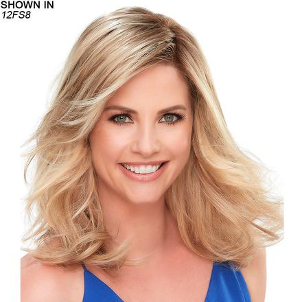 Top Smart 12 Lace Front Hand-Tied Monofilament Topper Hair Piece by Jon Renau®