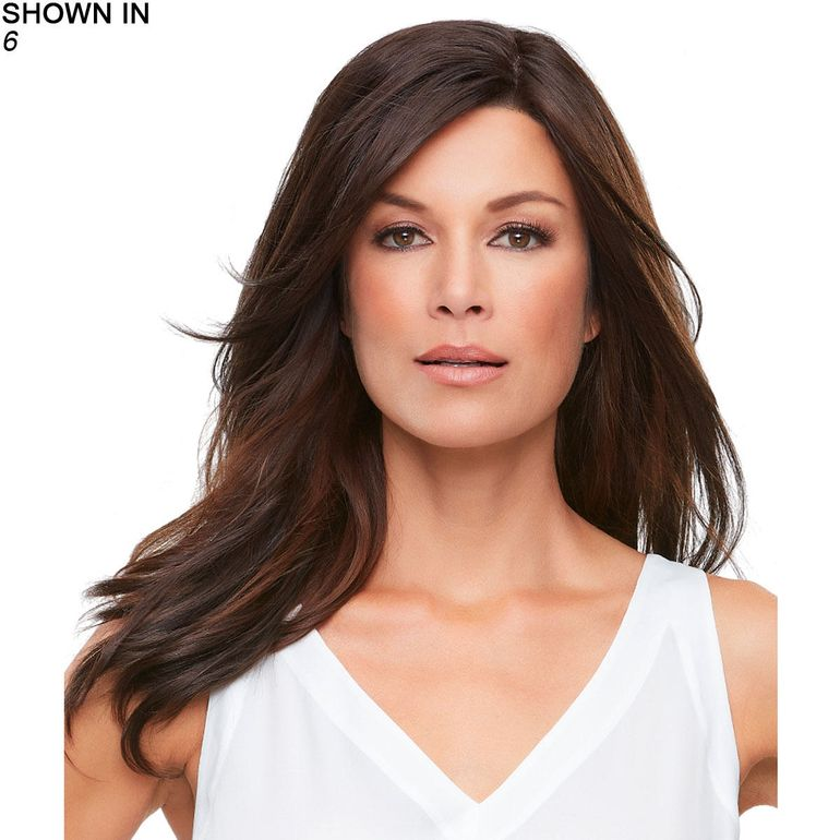 Top Smart 18 Lace Front Hand-Tied Monofilament Topper Hair Piece by Jon Renau®