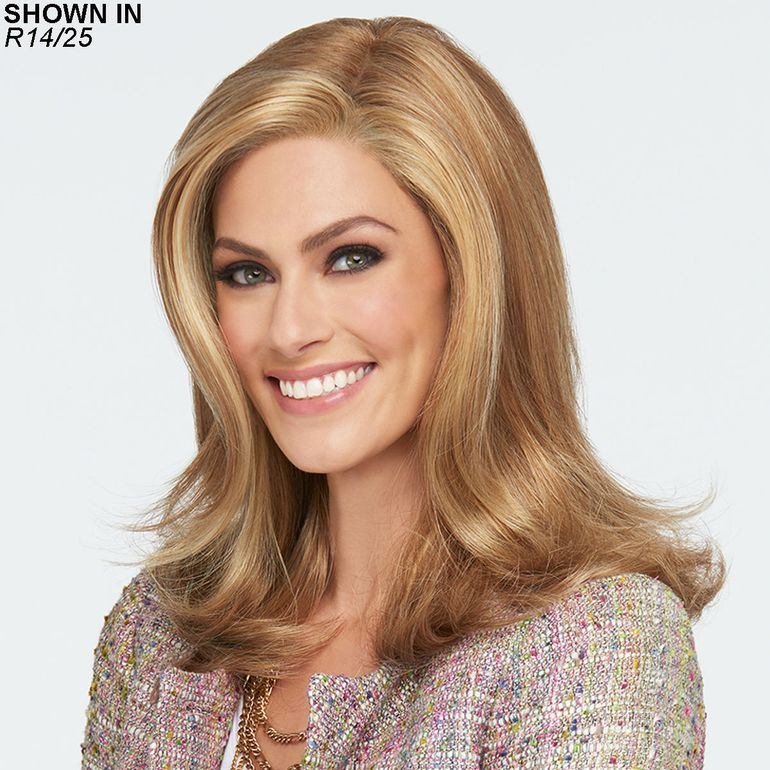 Love Love Love Lace Front Monofilament Wig by Raquel Welch®