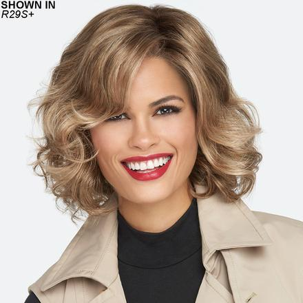 Brave the Wave Lace Front Monofilament Wig by Raquel Welch®