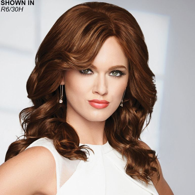 Knockout Lace Front Human Hair Wig by Raquel Welch®