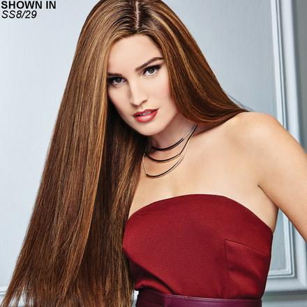 Glamour and More Remy Human Hair Lace Front Wig by Raquel Welch Couture™