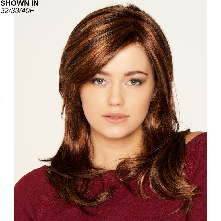 Carolina Lace Front Monofilament Wig by Dream USA