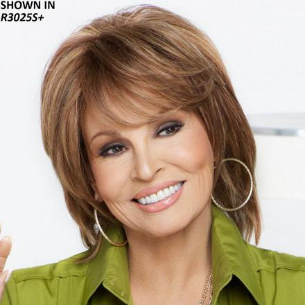 On Cue Human Hair Wig by Raquel Welch®