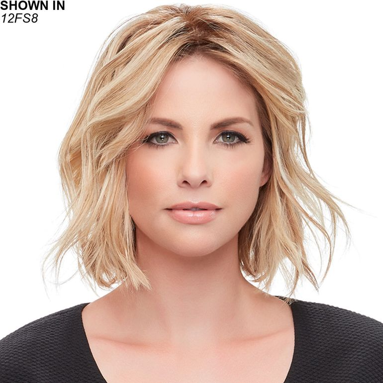 easiPart French XL 12 Remy Human Hair Topper Hair Piece by Jon Renau®